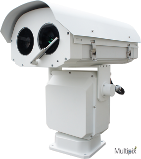 MP-HDII980 Dual Sensors Ultra Telefocal IP PTZ 60x optical + 150mm Thermal